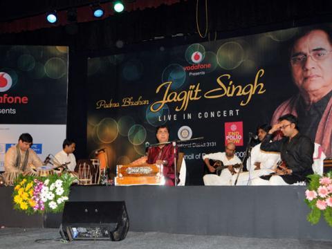 Jagjit Singh (Fund Raising for eradication of Polio)