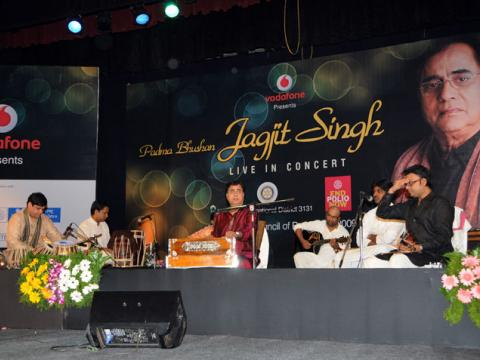 Jagjit Singh (Fund Raising for eradication of Polio)